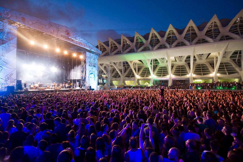 El Festival de les Arts es el principal evento de música indie de Valencia