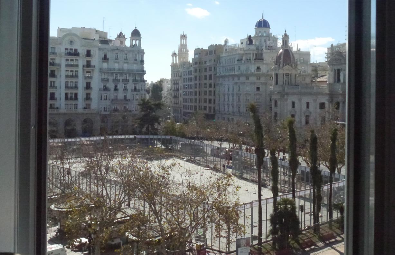 Plaza del Ayuntamiento Mascletà