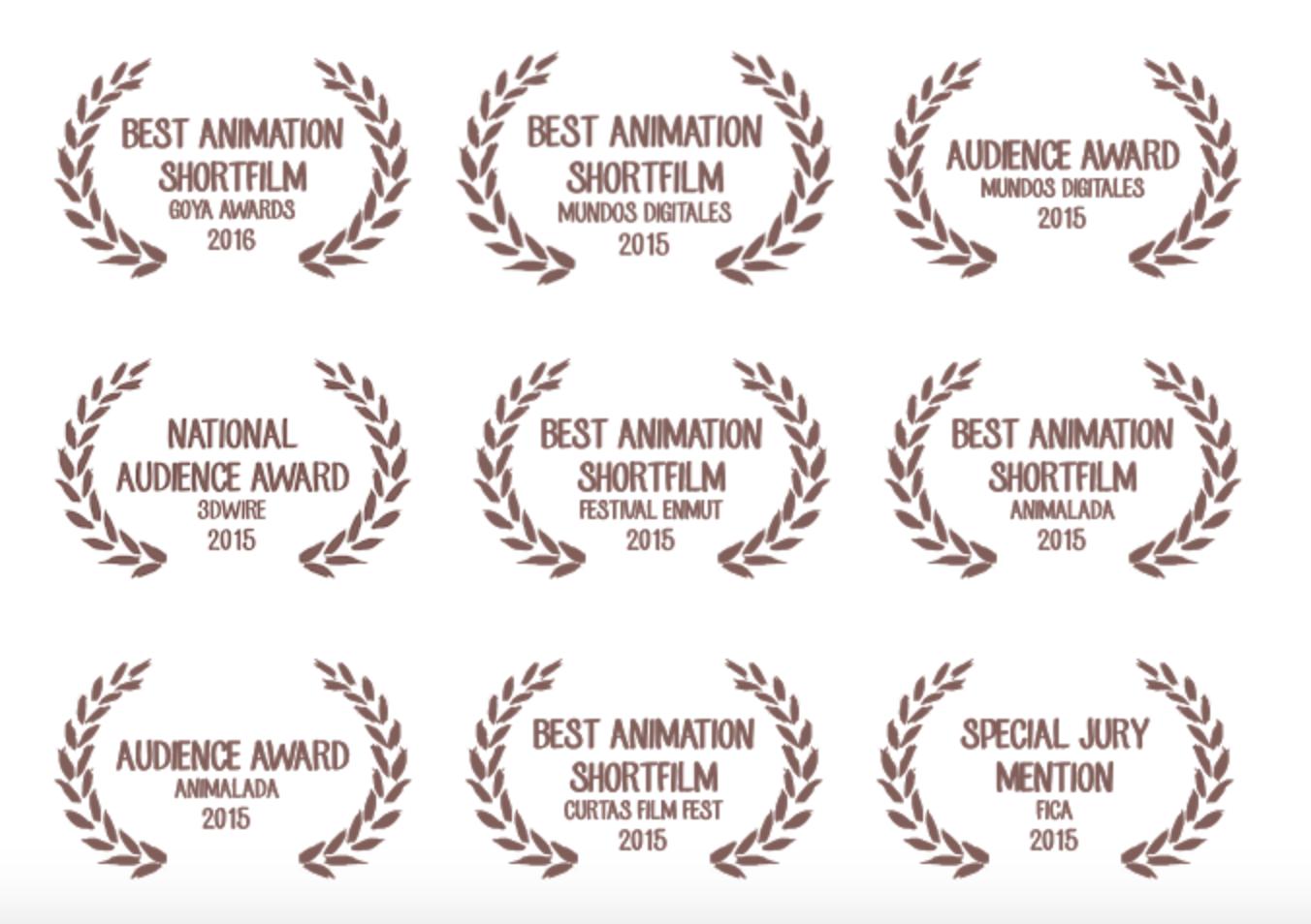 Algunos premios corto Alike